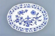 Cibulák talíř oválný 34,7 cm