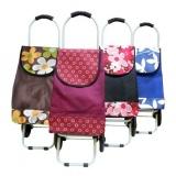 Nákupní taška na kolečkách 88x31 cm