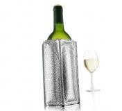 VacuVin Chladící návlek na víno - stříbrný