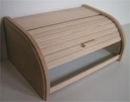 Dřevěná chlebovka 42x28x18 cm