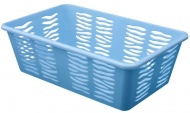 BRANQ Plastový košík Zebra Z2, mix barev