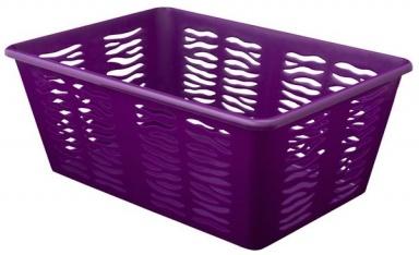 BRANQ Plastový košík Zebra Z3, mix barev