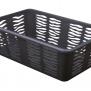 Plastový košík zebra antracit