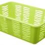 Plastový košík zebra zelený