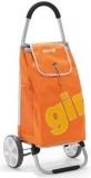 Nákupní taška na kolečkách GALAXY 50l, nosnost 30kg, oranžová