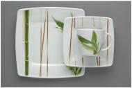 Jídelní souprava VICTORIA 18 dílů, bambus