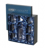 DIAMANTE Silhouette whisky se 6+1, box