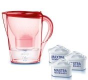 BRITA Marella Cool rose red + 3 filtry