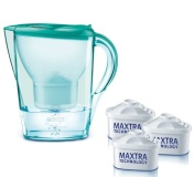 BRITA Marella Cool mint green + 3 filtry