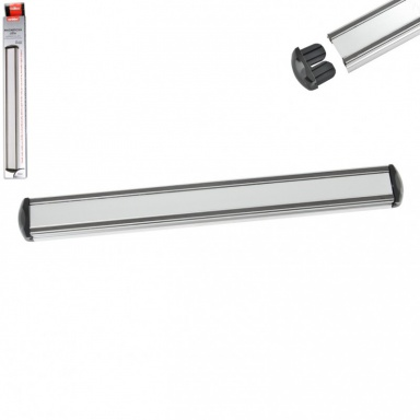 Magnetická lišta na nože, hliníková 39 cm