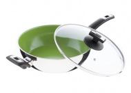 KOLIMAX CERAMMAX PRO COMFORT Pánev s keramickým povrchem 26cm/3.5l, vysoká 8cm, zelená