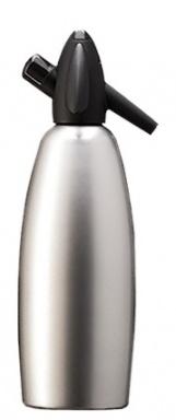 KAYSER SODAsiphon Sifonová láhev 1l, stříbrná