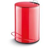 LAMART LT8006 DUST Odpadkový koš 5l, červený