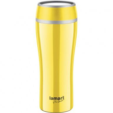 LAMART LT4027 Termohrnek 0,4l žlutý