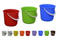 Plastové vědro 5l, mix barev