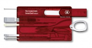 Victorinox SwissCard Classic, červená