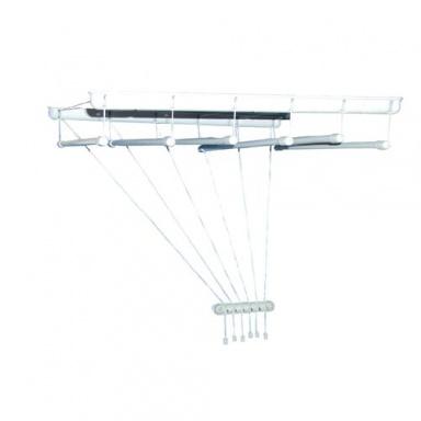 sušák stropový IDEAL 170cm 6 tyčí PH+kov. BÍ