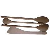 sada vařeček K2 dřev. 4díl.