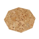 prostírání osmihran 15cm korek     (6ks)