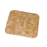 prostírání čtverec 15cm korek      (6ks)