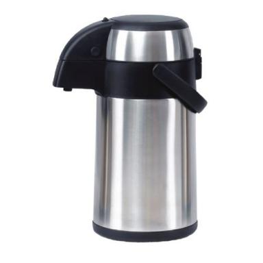 termoska s pumpičkou 3,0l nerez+PH