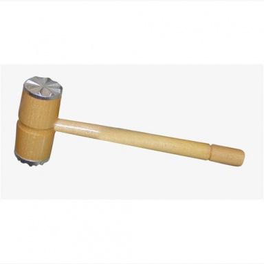 palička na maso oboustr.27cm dřev.+ kov