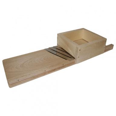 kruhadlo na zelí 60cm, 3 nože, dřev.