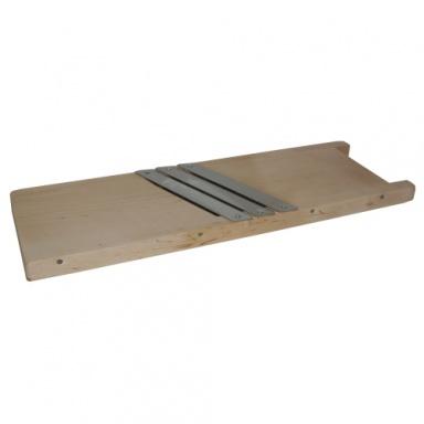 kruhadlo na zelí 45cm, 3 nože, dřev.