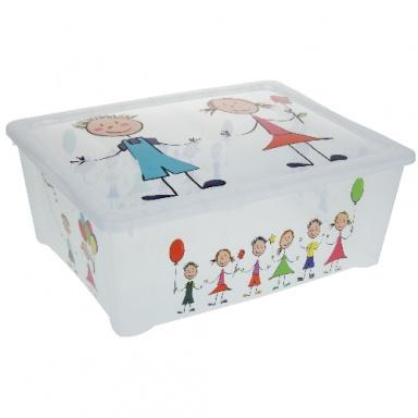 box úložný 43x36x16cm s víkem PH dětský