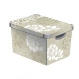 box úložný ROMANCE 39,5x29,5x25,0cm (L) s víkem, PH