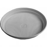 talíř mělký 22cm PH BÍ (24ks) jednorázový