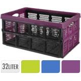 přepravka skládací 51x34x23cm PH mix barev nosnost 20kg