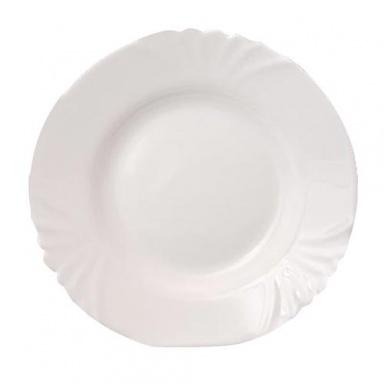 talíř hluboký skleněný CADIX 21,5cm BÍ