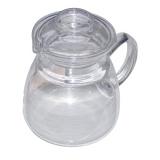 konvice JANA 0,6l víčko skl., rukojeť skl.