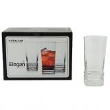 sklenice 330ml ELEGAN longdrink (6ks)