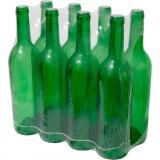 láhev na víno 750ml skleněná ZE