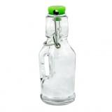 láhev s pákovým uzávěrem   70ml skleněná